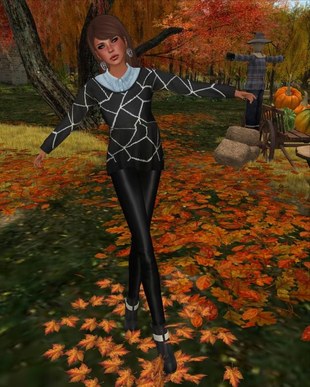 Emery - Crackled Sweater Cara and Leggings Rene