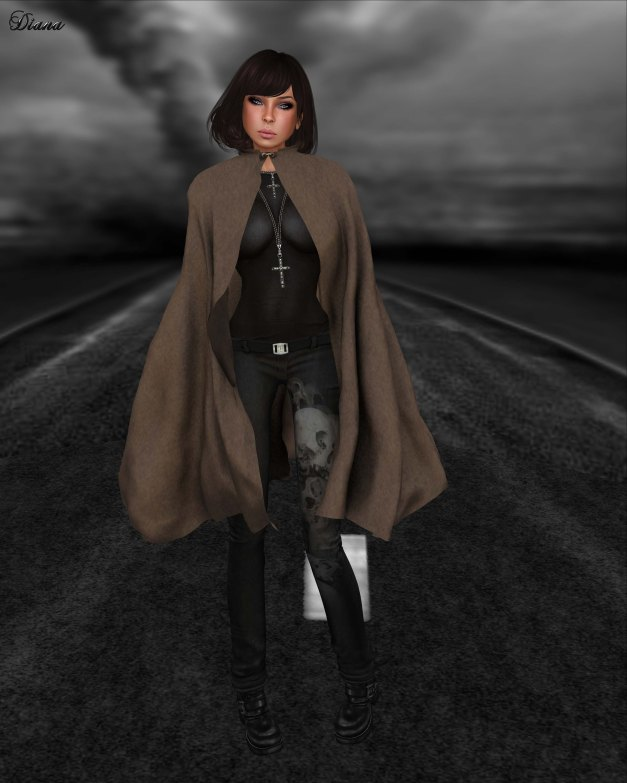 Just BECAUSE - Cloaks - Elastic Mesh-3