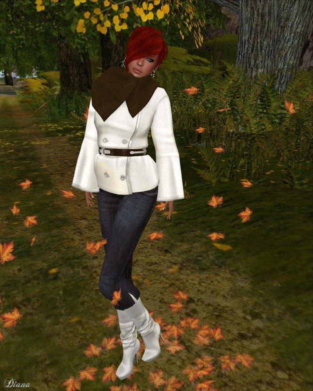 Slink - Marigold Coat and Crop Jeans-1