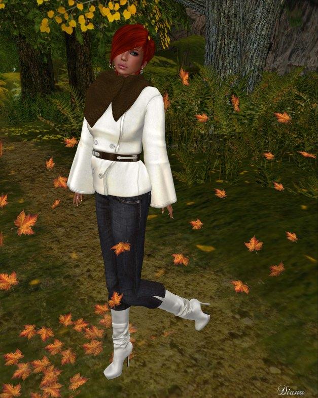 Slink - Marigold Coat and Crop Jeans-2