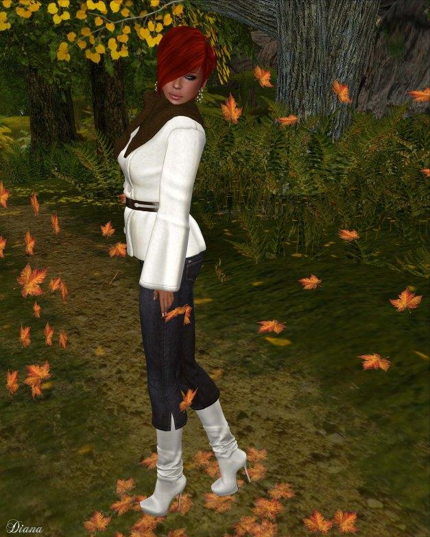 Slink - Marigold Coat and Crop Jeans-3