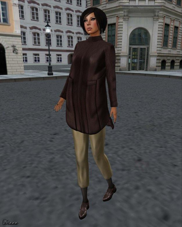 Baiastice - Kiki Hair-Lako Jacket-Metro  Pants-Oxford Shoes-2