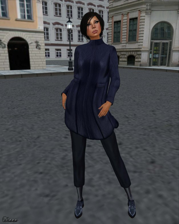 Baiastice - Kiki Hair-Lako Jacket-Metro  Pants-Oxford Shoes-3