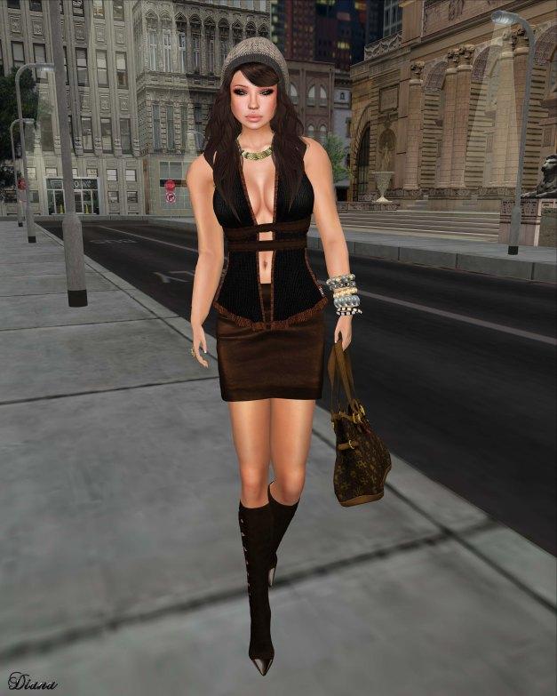 Immerschoen-BodyCult - Mesh Skirt Set Muriel-1