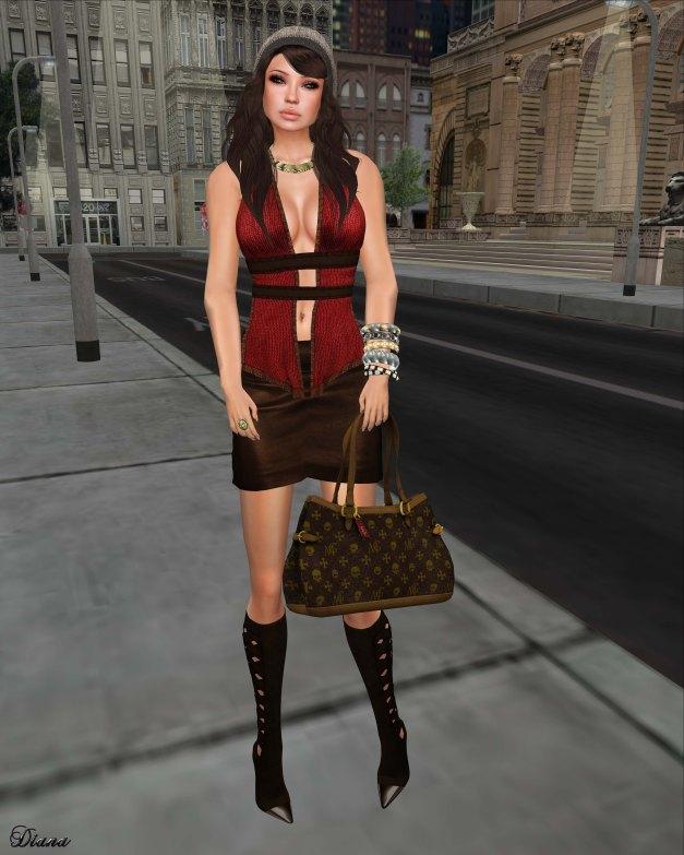 Immerschoen-BodyCult - Mesh Skirt Set Muriel-2