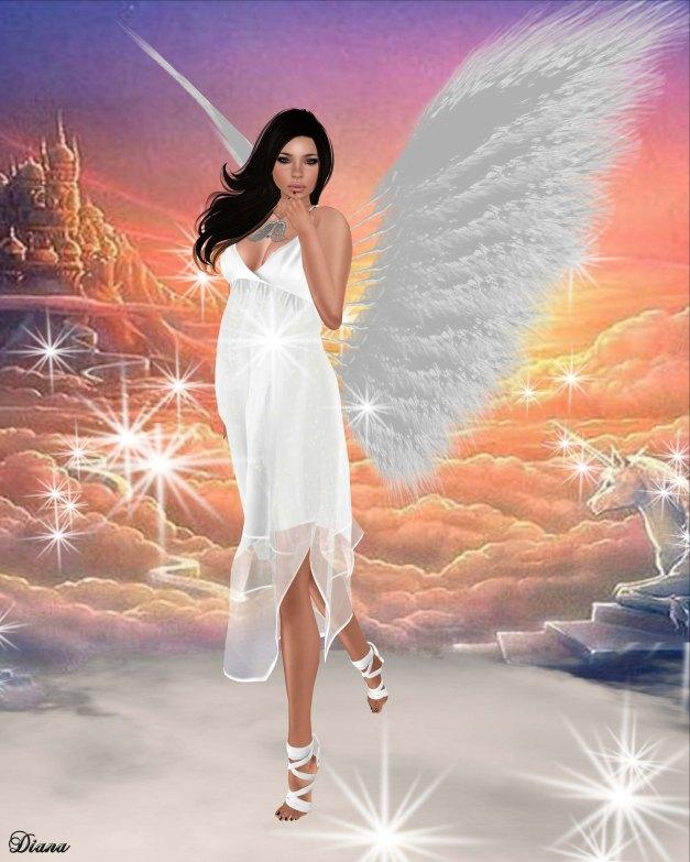 LpD - Atena Dress White and Glam Affair - Vanity Feet - Ballerina-1
