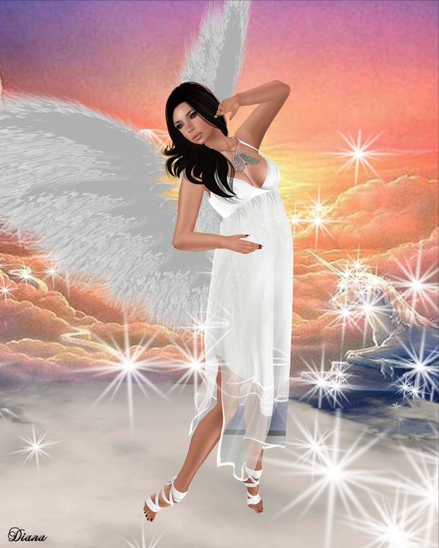 LpD - Atena Dress White and Glam Affair - Vanity Feet - Ballerina-2