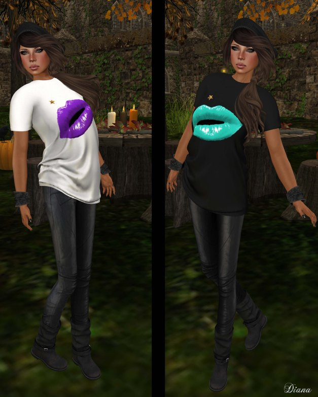 MG - Fashion Tees - Lipstick Lover-2