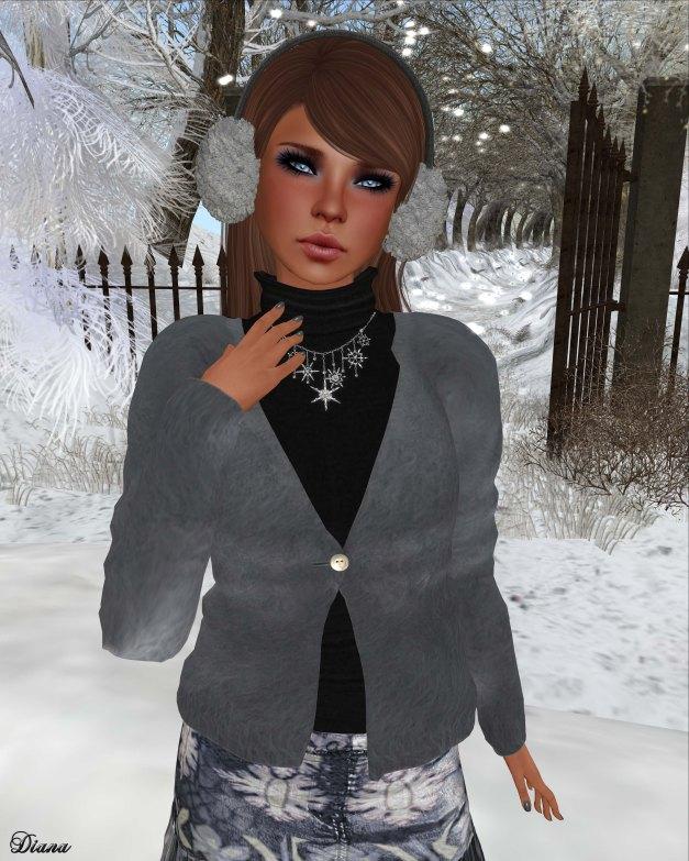 Mimikri - Anina Mohair Cardigan and Mini Skirt--2