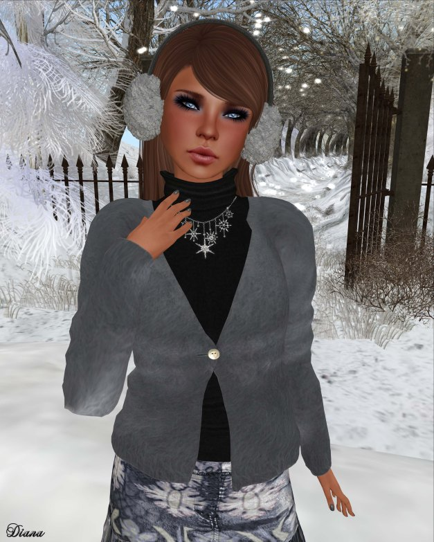 Mimikri - Anina Mohair Cardigan and Mini Skirt--2