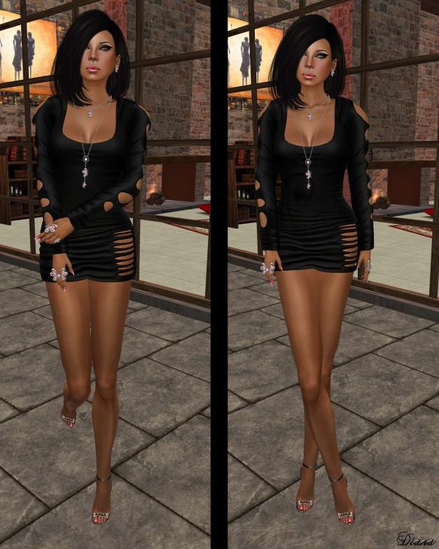 Sakide - Lascive Dress Black