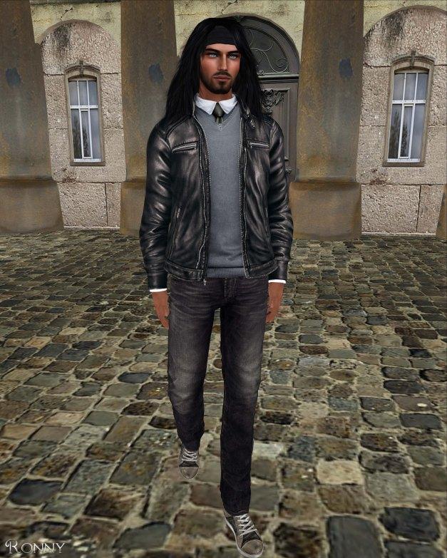 Redgrave - Leather Jacket Smith black