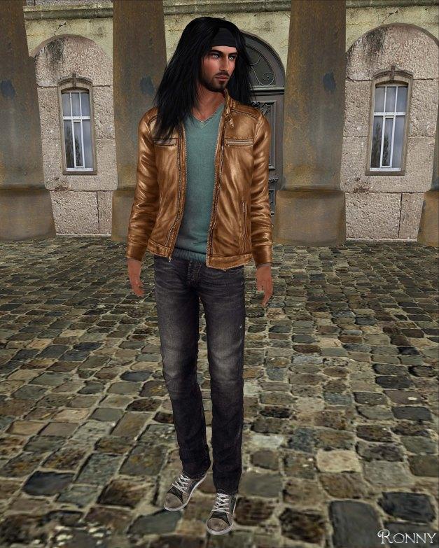Redgrave - Leather Jacket Smith cognac