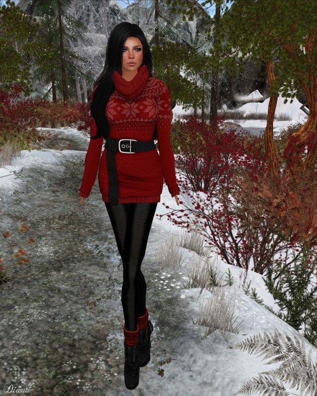 Sassy! - Icebreaker sweater red