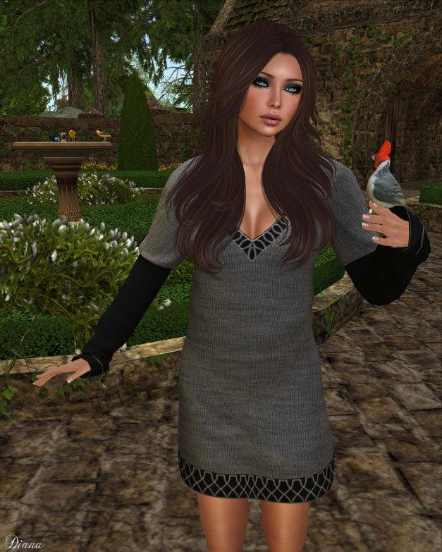 coldLogic - dress benes grayscale