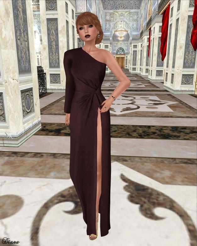ColorMeHOF - Victoria Dress (Oxblood)-1
