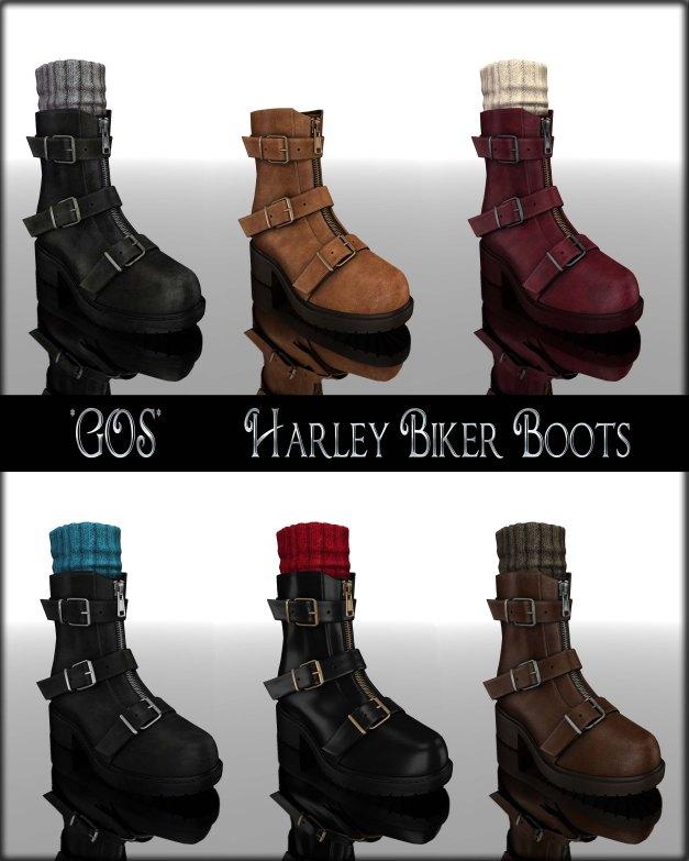 Gos - Harley Biker Boots