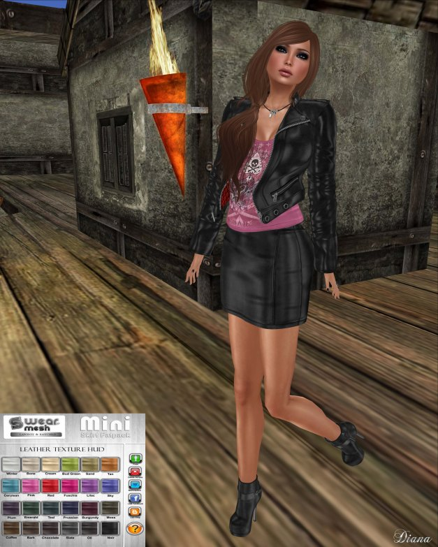 Lapointe & Bastchild - S'Wear Leather Mini-1