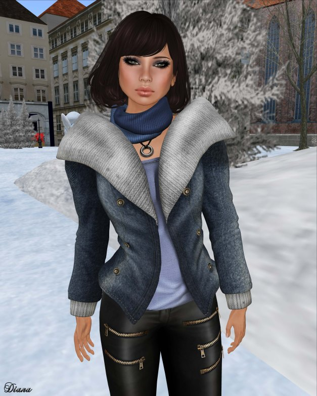 NS - Chic Jacket Mesh with HUD-1