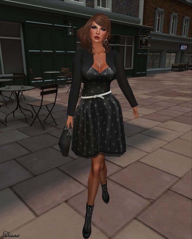 !Rebel Hope - Holly Mesh Dress and  Vivian Mesh Balero black