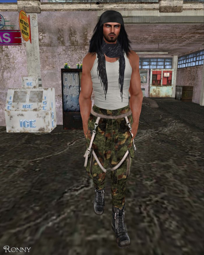 Redgrave - LQ Mesh Soldier Pants and Boots Set-3