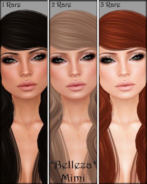 Belleza - Mimi 1-3 Rare