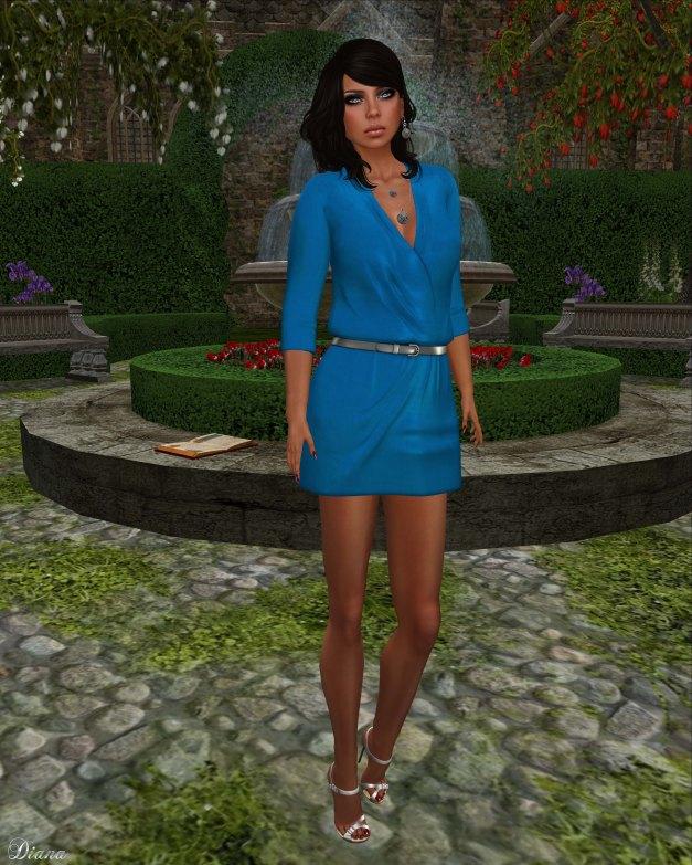 Cracked Mirror - Athena Dress-1