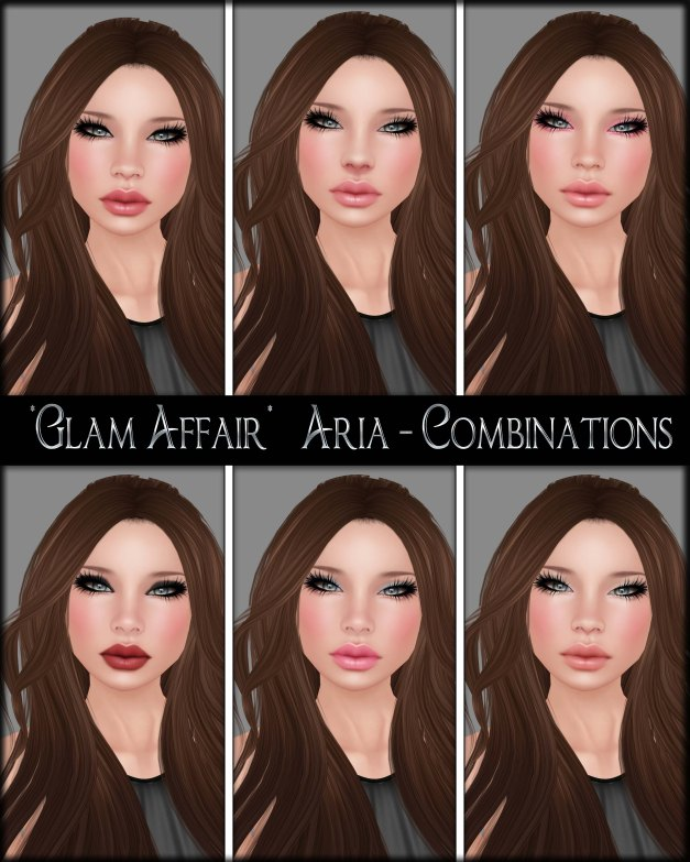 Glam Affair - Aria - Combinations 01-06