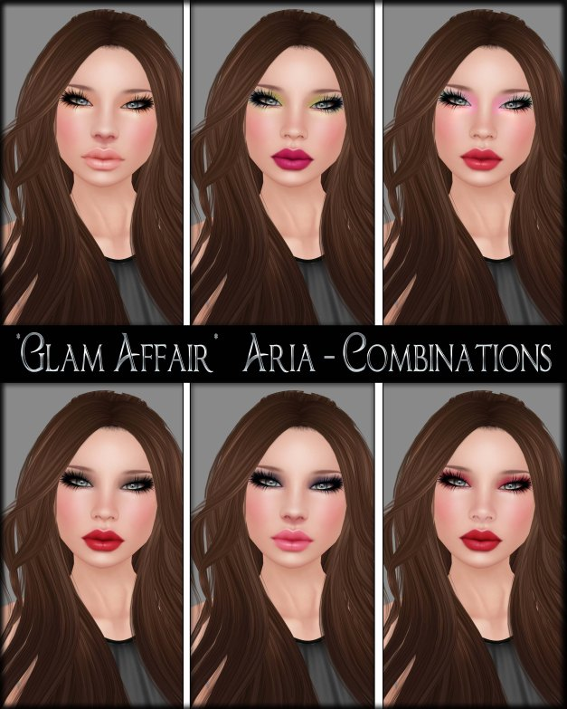 Glam Affair - Aria - Combinations 07-12