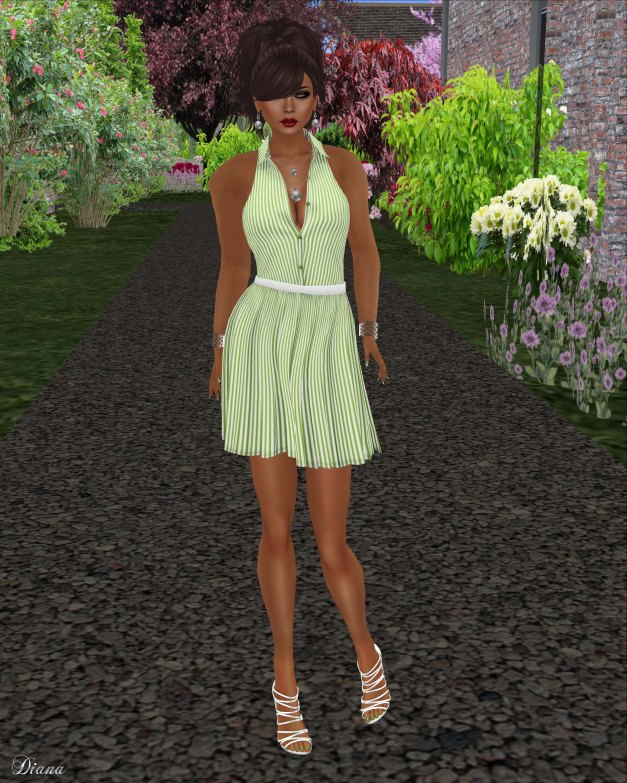 coldLogic - dress heron