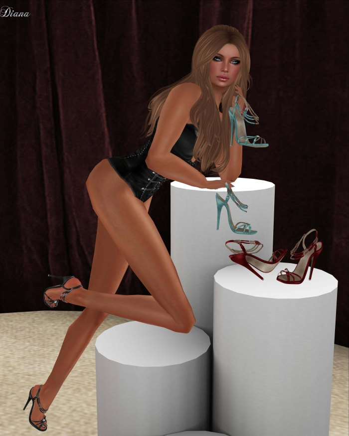 Eudora 3D - Harker Heels