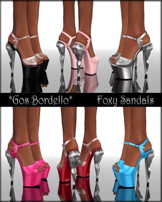 Gos Bordello - Foxy Sandals