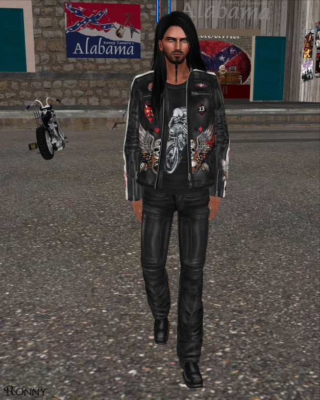 Lapointe & Bastchild - S'Wear Racing Leather Jacket Set-2