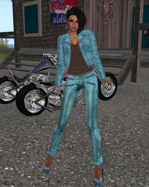 Lapointe & Bastchild - S'Wear Zipp Womens Leather Pants - Color Set-1