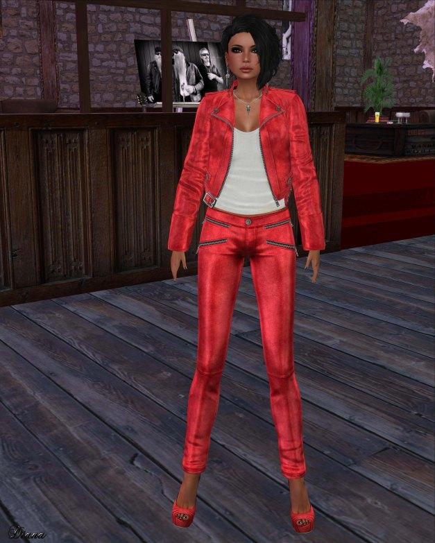 Lapointe & Bastchild - S'Wear Zipp Womens Leather Pants - Color Set-2
