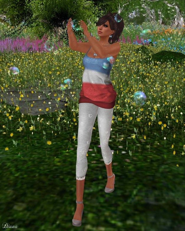 girl thursday - double dip tankdress and rose leggings-1