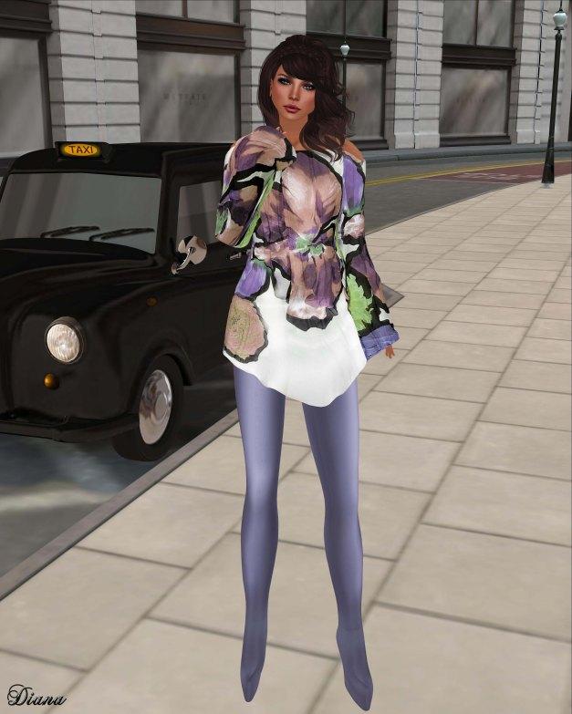 GizzA - Tunic Set Floral Pastel