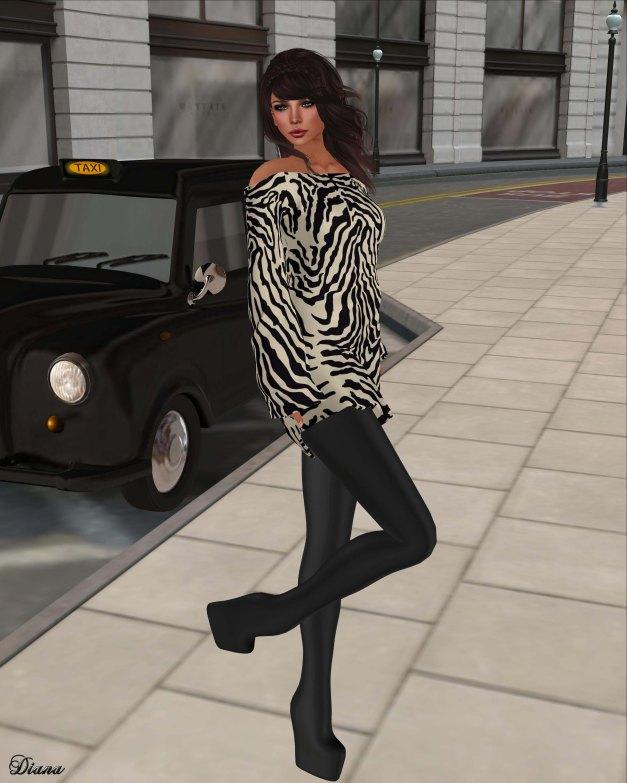 GizzA - Tunic Set Zebra