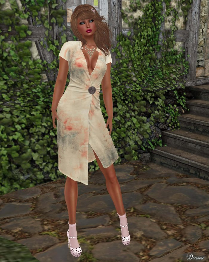 Maitreya - Wrap Dress (Celestial)