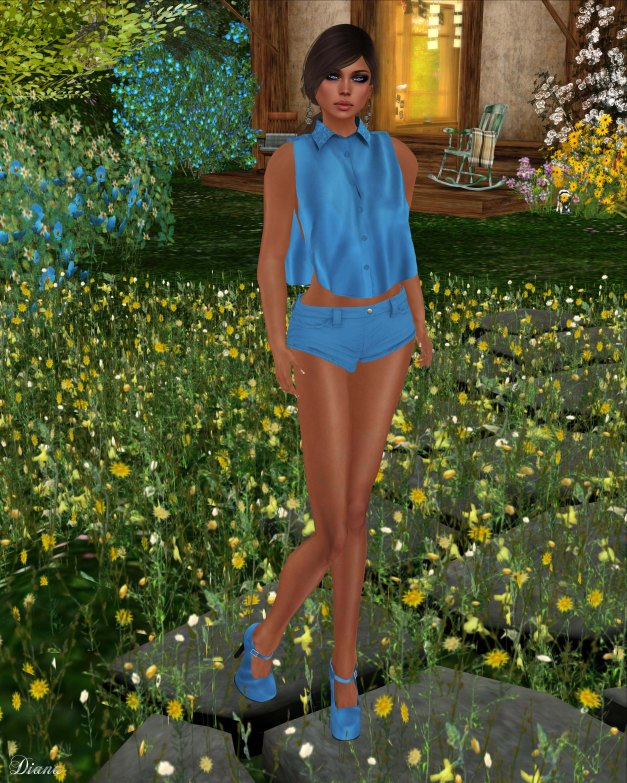 Sakide - Blu Outfit-1