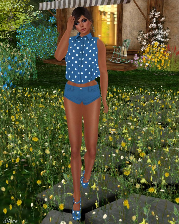 Sakide - Blu Outfit-2