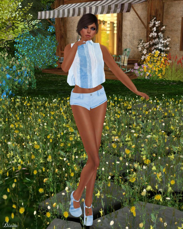 Sakide - Blu Outfit-3