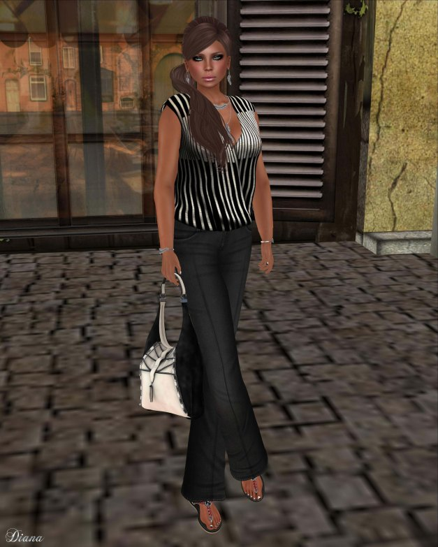 Asteria Creations - My Bree Blouse and Pants-1