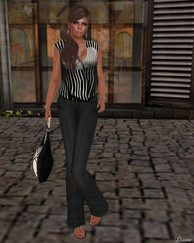 Asteria Creations - My Bree Blouse and Pants-2