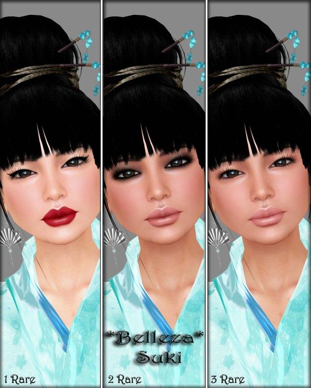 Belleza - Suki 1-3 Rare