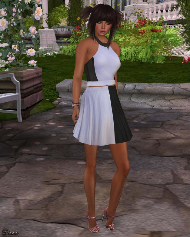 coldLogic - shirt curdy orchid and skirt petty orchid