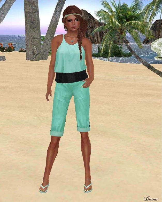 coldLogic - shirt sisney and pants davar mojito