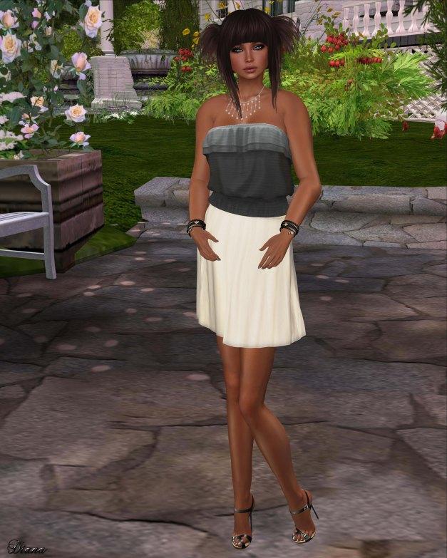 coldLogic - shirt vayne licorice and skirt howell buff