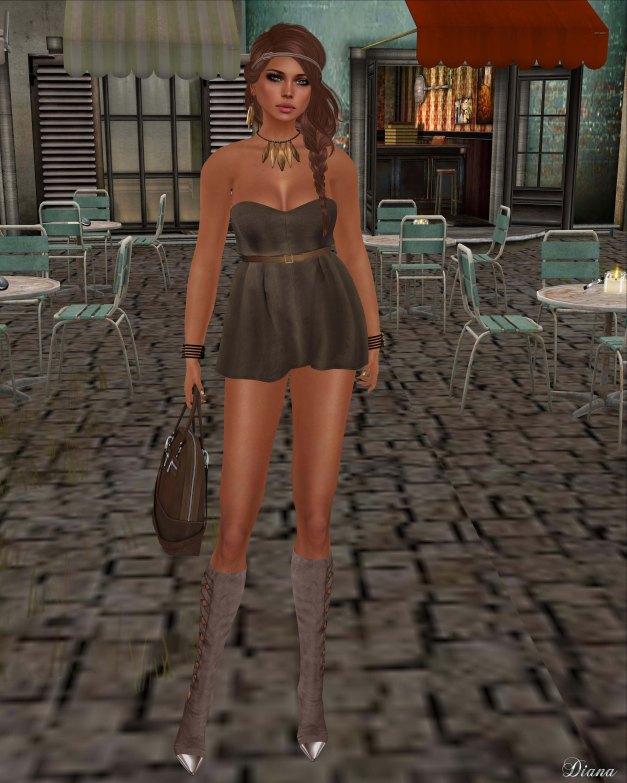 GizzA - Cookie Dress Earth