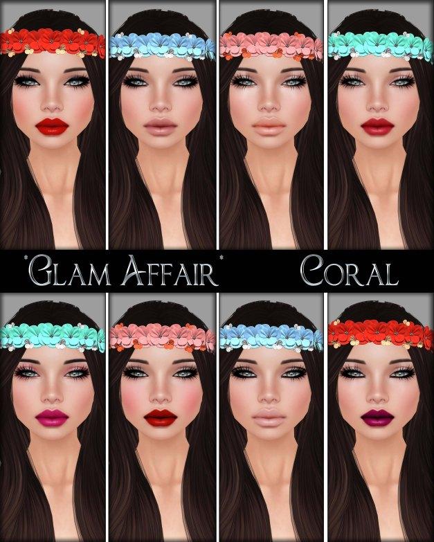 Glam Affair - Coral